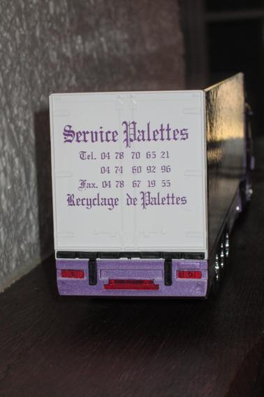 SCANIA 124 L 360  SERVICES PALETTES