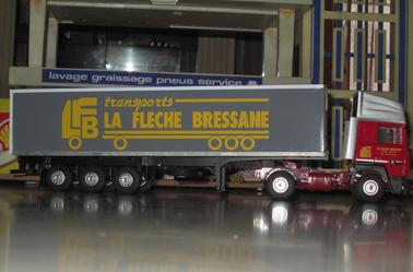 renault R 350 semi fourgon la fleche bressane