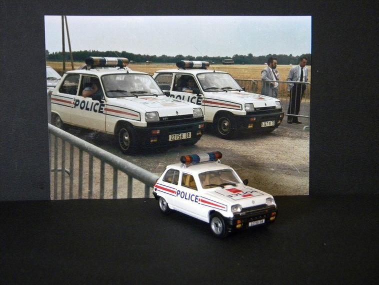 renault 5 police et gendarmerie