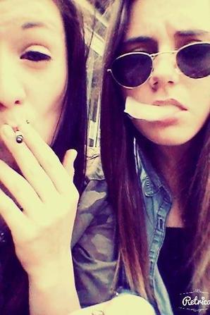 Manuella&Aude♥!