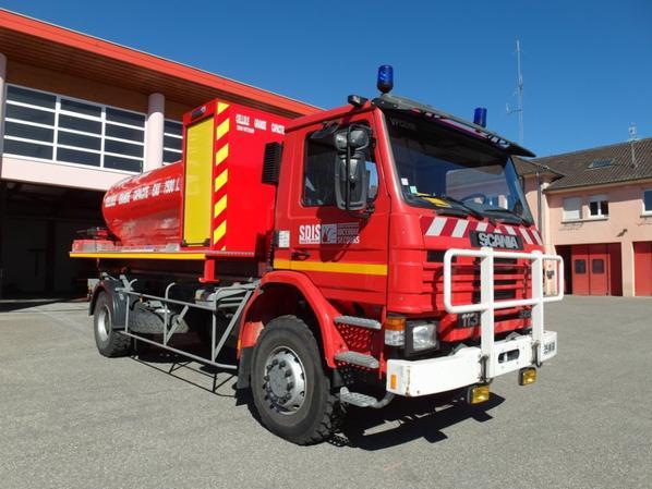 Nouvelle Cellule Eau de 7500 L pour le Corps des Sapeurs Pompiers de Cernay-Wittelsheim