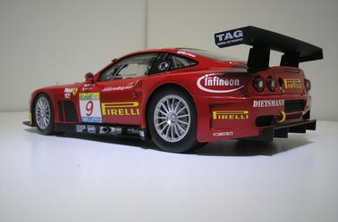 Ferrari 575 Gtc Estoril 2003 Kyosho 1/18