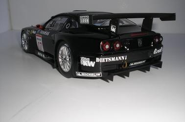 Ferrari 575 Gtc Donington 2004 Kyosho 1/18