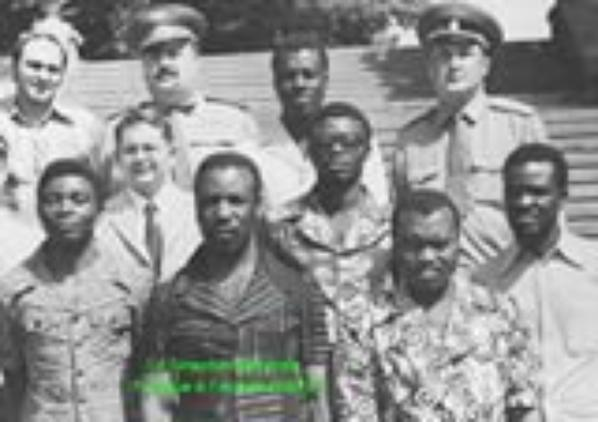 OKONGO Nicolas Pascal au Comité Militaire du Parti et OKONGO Clément Emmery Patrick