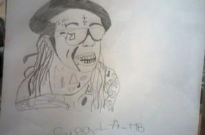 J'ai dessiner Lil Wayne♥