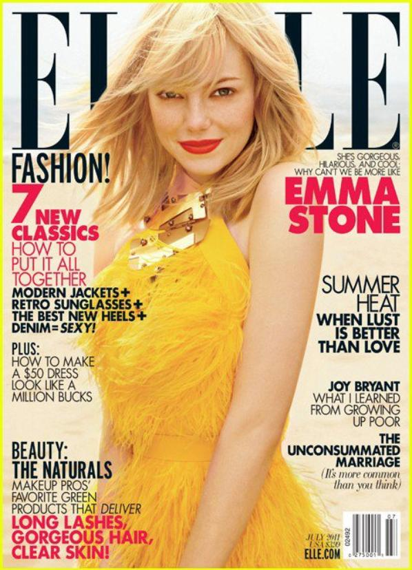 Emma Stone: ELLE Cover July 2011