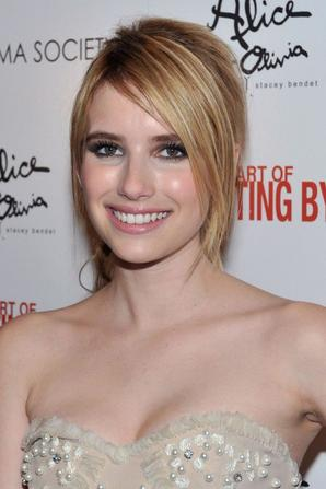 """Emma Roberts at the premiere of """"The art of getting by"""""""
