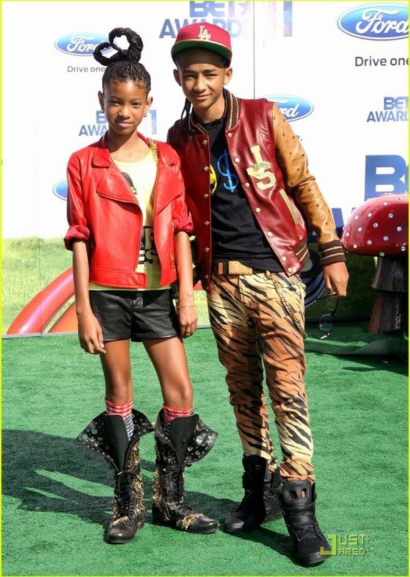 Jaden & Willow Smith: Young Star Awards Winners!
