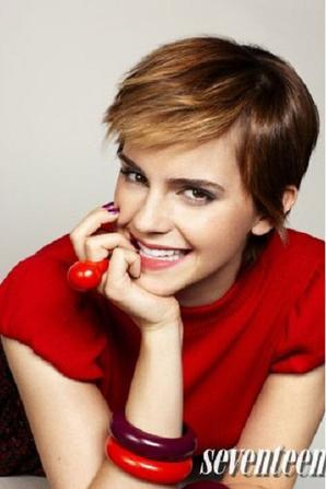 Emma Watson: Seventeen's Cover