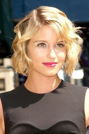 Dianna Agron on David Letterman Show