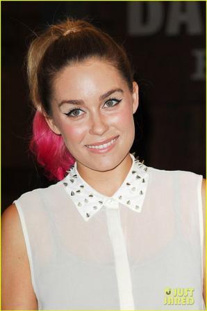 Lauren Conrad: Hot Pink Ponytail Tips!