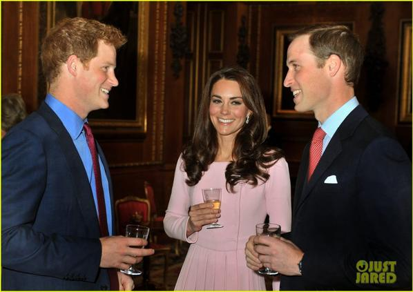 Prince William & Duchess Kate: Diamond Jubilee Lunch!