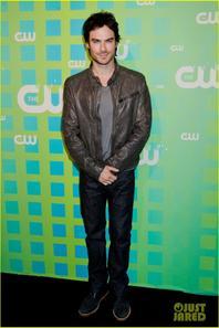 Ian Somerhalder & Nina Dobrev: CW Upfront!