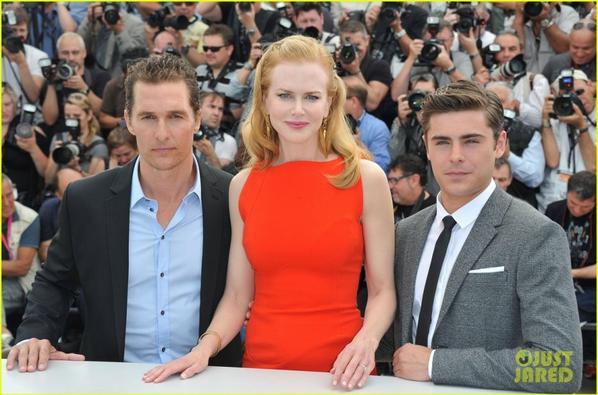 Nicole Kidman, Matthew McConaughey & Zac Efron : 'Paperboy' Photo Call!