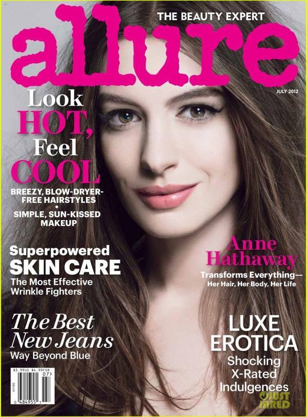 """Anne Hathaway: """"ALLURE"""""""