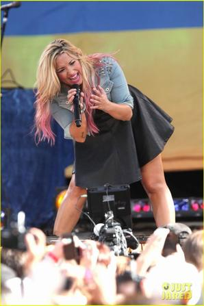 Demi Lovato: 'Good Morning America' Concert Series Performer!