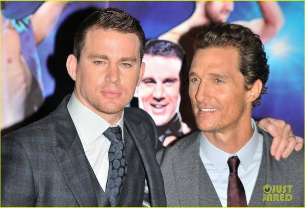 Channing Tatum & Matthew McConaughey: 'Magic Mike' London Premiere!