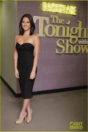 Olivia Munn: 'Tonight Show with Jay Leno'