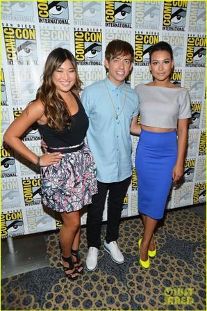 """Glee"" Cast Hit Comic-Con 2012!"