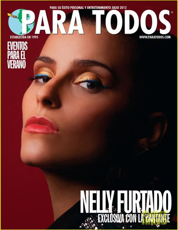 Nelly Furtado Covers 'Para Todos' July 2012