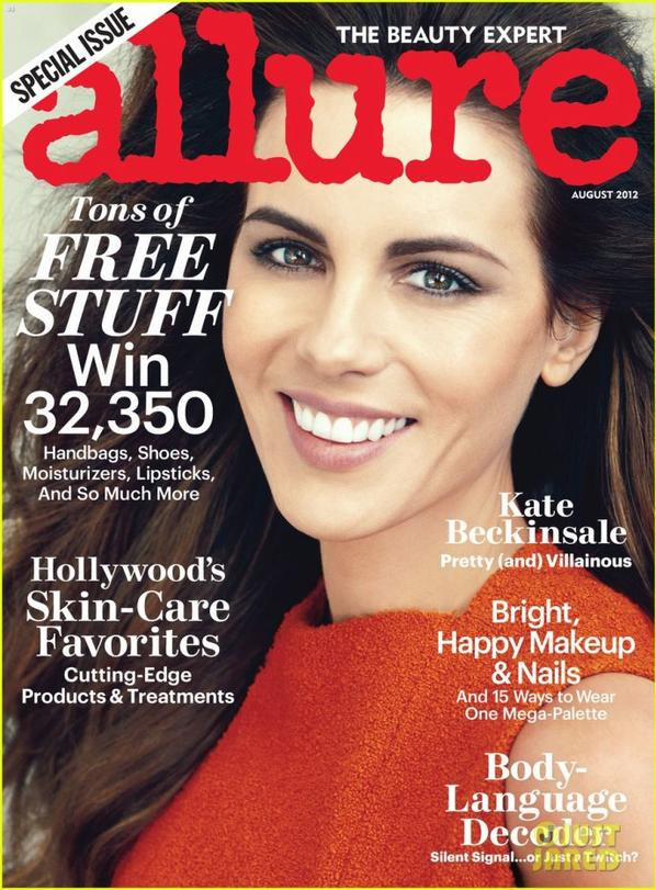 Kate Beckinsale Covers 'Allure' August 2012