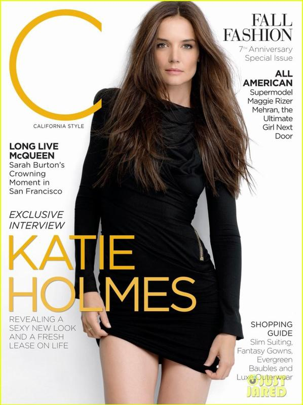 Katie Holmes Covers 'C Magazine' September 2012