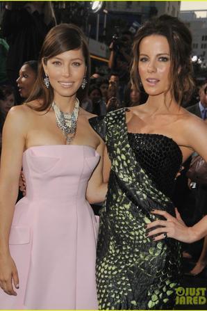 Jessica Biel & Kate Beckinsale: 'Total Recall' Premiere!