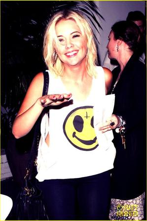 Ashley Benson: Chateau Marmont Smiles!
