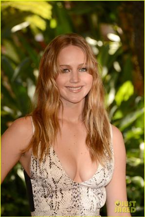 Jennifer Lawrence: Hollywood Installation Luncheon!