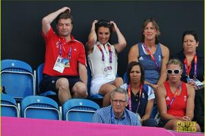 Duchess Kate Roots for Great Britain's Women's Olympic Field Hockey!