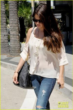 Selena Gomez: Century City Mall Shopper