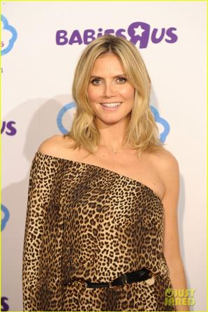 Heidi Klum Launches Truly Scrumptious for Babies 'R' Us!