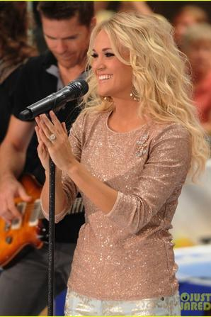 "Carrie Underwood on the ""Today Show"""
