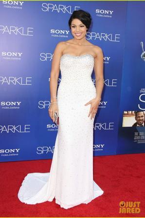 Jordin Sparks: 'Sparkle' Premiere with Bobbi Kristina!