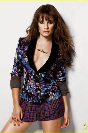 Lea Michele Covers 'Nylon' Magazine September 2012