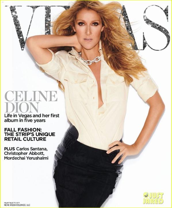 Celine Dion: 'Vegas' Magazine Cover Girl
