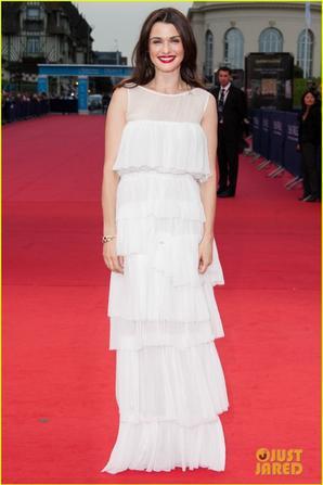 Rachel Weisz: 'Bourne Legacy' France Premiere with Jeremy Renner!