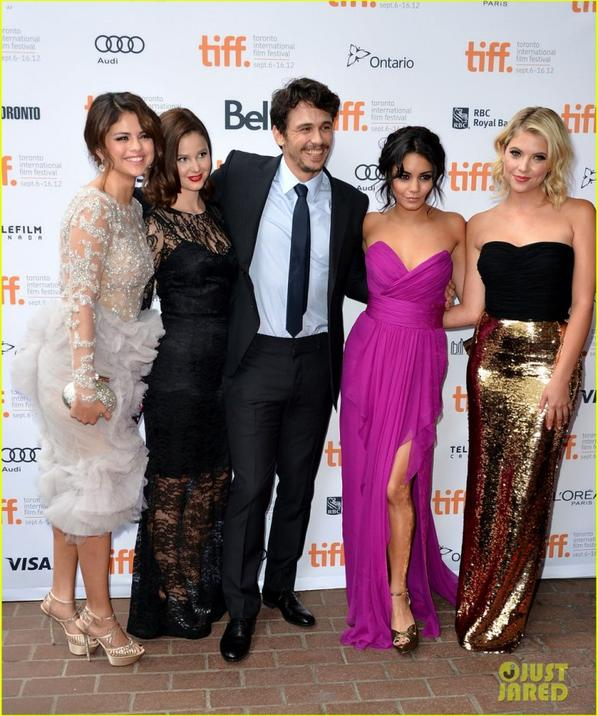'Spring Breakers' Premiere at TIFF!