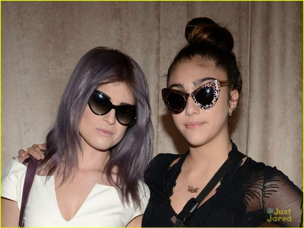 Kelly Osbourne & Lourdes Leon: Zac Posen Show at Fashion Week