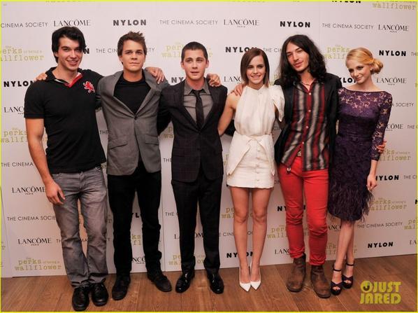 Emma Watson & Logan Lerman: 'Perks' Screening in NYC!