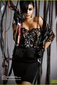 Vanessa Hudgens: 'Untitled' Magazine Cover Girl!