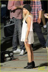 Ashley Tisdale: 'Getaway' Set with Selena Gomez!