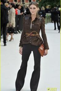 Burberry Fashion Show in London!