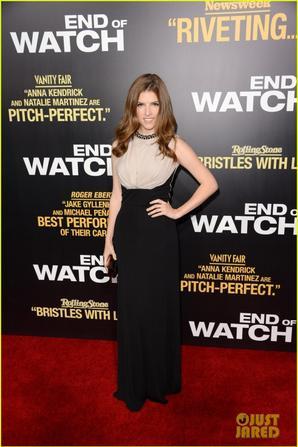 Jake Gyllenhaal & Anna Kendrick: 'End of Watch' Premiere!