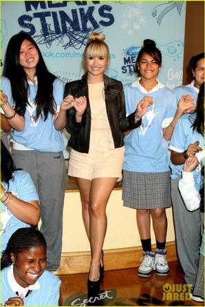 Demi Lovato: 'Mean Stinks' Ambassador!