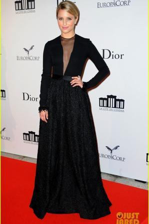 Dianna Agron & Salma Hayek: La Cite Du Cinema Launch!