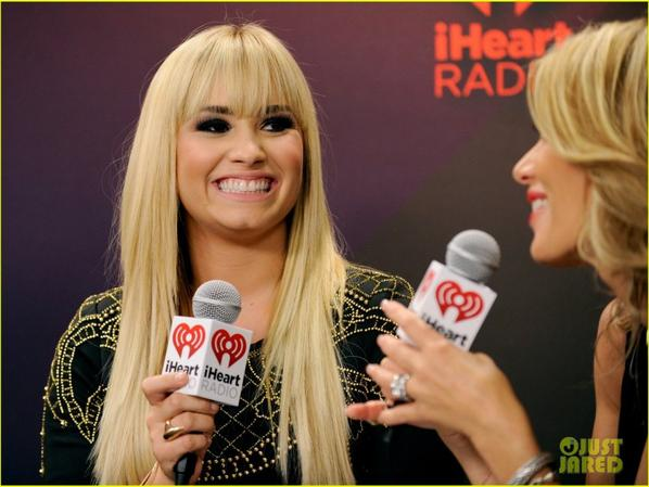 Demi Lovato: iHeartRadio Music Festival Presenter