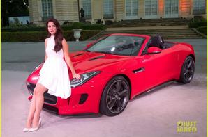 Lana Del Rey: Jaguar F-Type Launch in Paris!