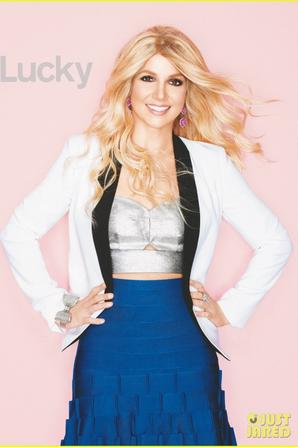 Britney Spears Covers 'Lucky' December 2012