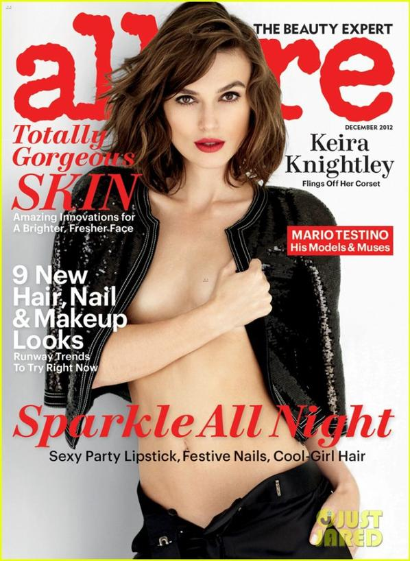 Keira Knightley: Topless for 'Allure' December 2012!